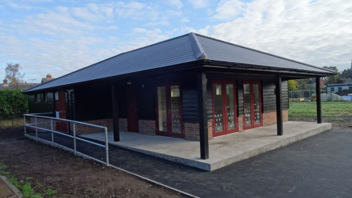New Tennis Clubhouse