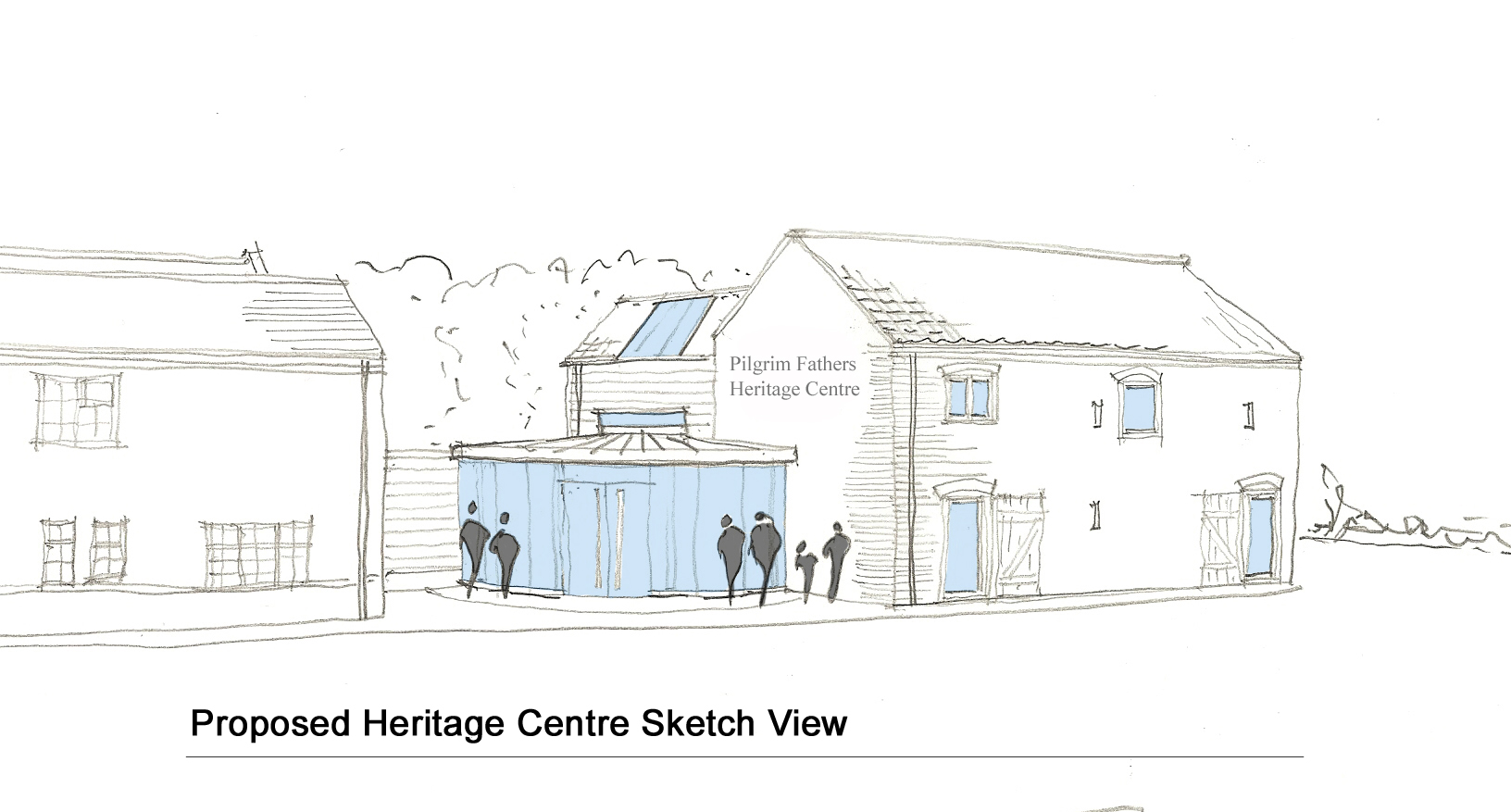 Heritage Centre Sketch View